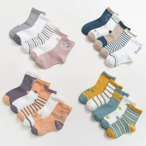 5 pairs of class a cotton socks children/'s socks Details about  /1-12 years old