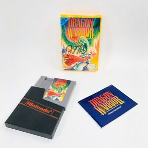 Dragon-Warrior-Nintendo-NES-Complete-in-Box-Cleaned-Tested-Authentic-Game