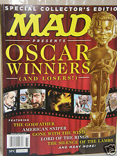 MAD  Oscar Winners  {collector's Edition}  2016 magazine new/unread/no-label