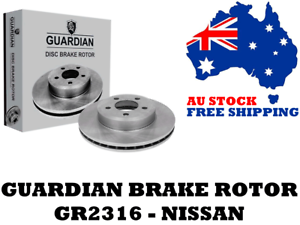 Guardian-GR2316-Front-Brake-Rotor-Nissan-Dualis-X-Trail-T31