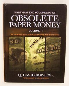WHITMAN--OBSOLETE PAPER MONEY VOLUME--4 by DAVID Q BOWERS