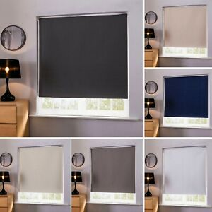 100-Thermal-Blackout-Window-Roller-Blinds-Made-To-Measure-Up-to-240cm-x-160cm
