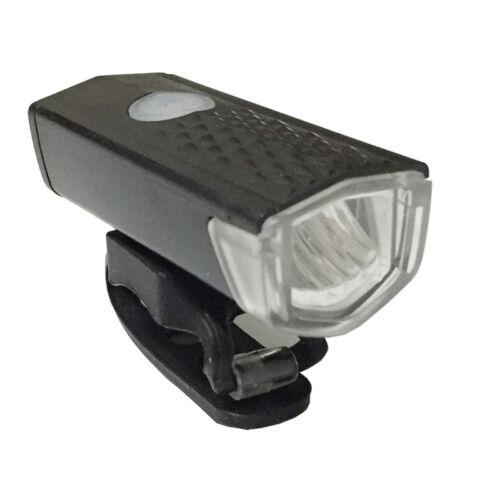 front USB rechargeable /& rear laser 5 LED bike lights kit set for mountain road
