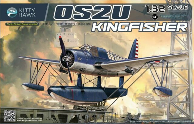 Kitty Hawk KH32016 1:32 OS2U Kingfisher MODEL BUILDING KIT