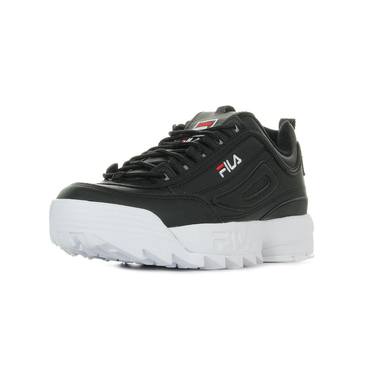 Schuhe Fila Herren Disruptor Low schwarz