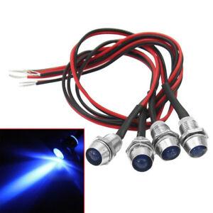 4x-KFZ-Signalleuchte-LED-12V-Warnlampe-Anzeige-Kontrollleuchte-mit-blaue-ZNP