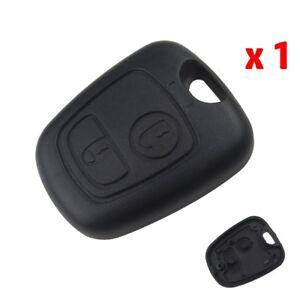 2-Boutons-Cle-Coque-telecommande-plip-pour-Citroen-Peugeot-107-207-307-407-206
