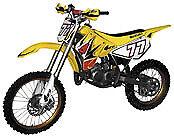 UFO OEM Yellow Restyled Yellow Complete Dirt Bikes /& Offroad SUKIT405K-999