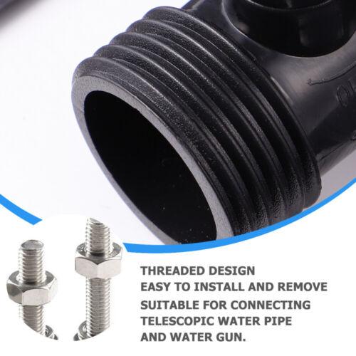 12pcs Hose Shut Off Valve Flow Control Plastic Connection Valve 3//4 Inch