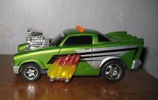 Toy State Road Rippers Muscle Car Sound Lights Green Rocking Flames & Motor Toy