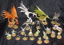 Heroscape Board Game Pieces Figures Dinosaurs Dragons Miniatures Valkyries