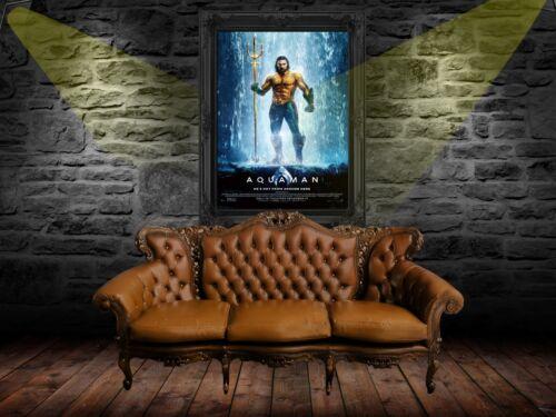 Aquaman 2018 Poster A0-A1-A2-A3-A4-A5-A6-MAXI C360