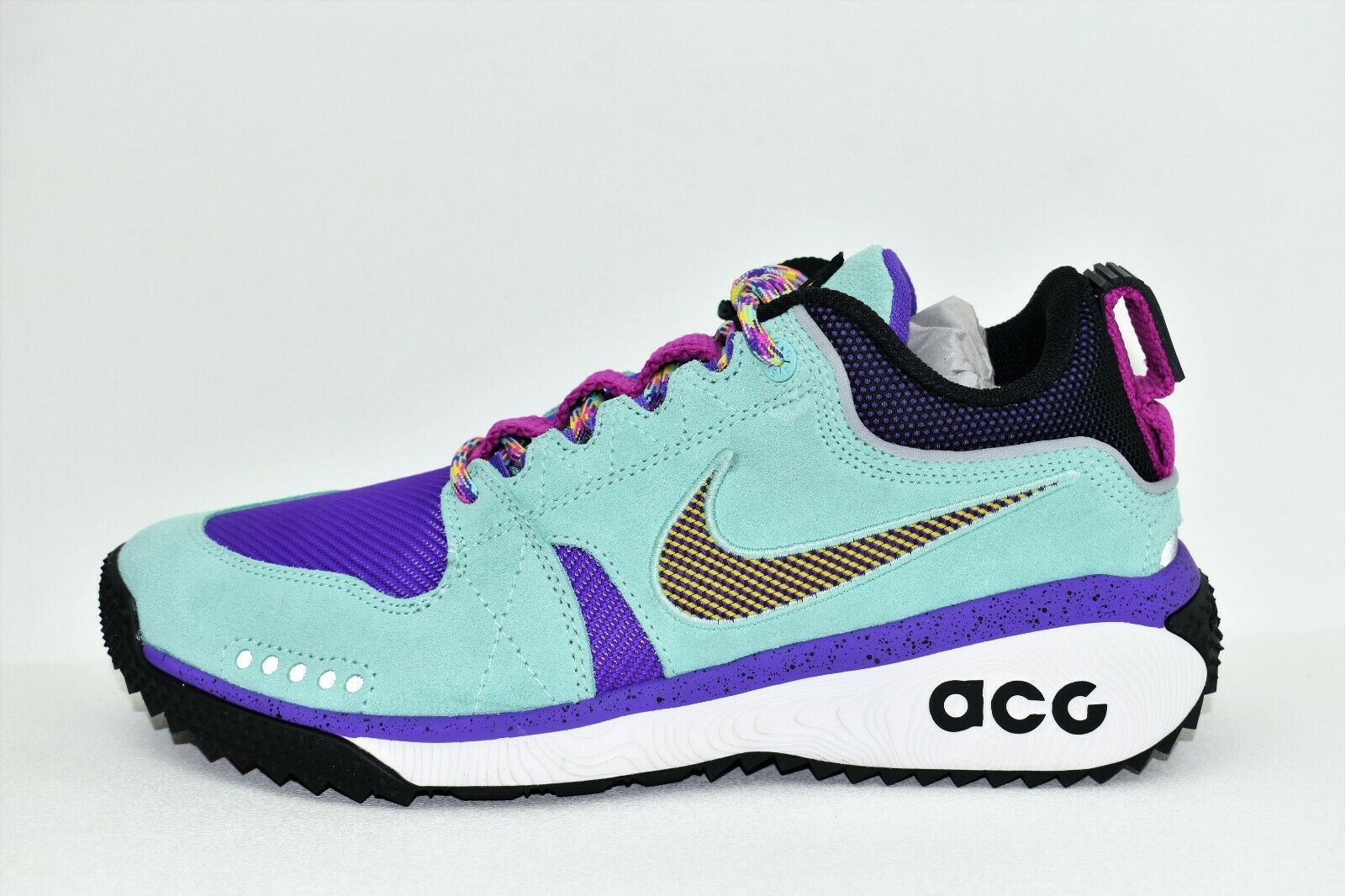 Nike ACG Dog Mountain Mens Size Size Size 9.5 shoes Emerald Rise bluee Purple AQ0916 300 345a9b