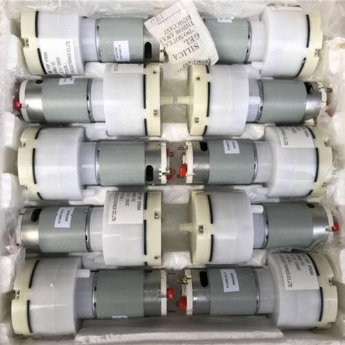 DC 5V~12V 6V 9V Large Flow Vacuum Air Pump Oxygen Pump Water Fish Tank Aquarium