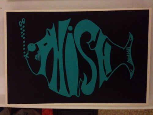 PHISH Vinyl Sticker New Old Stock 1 Color left Jam Band WSP Deadhead