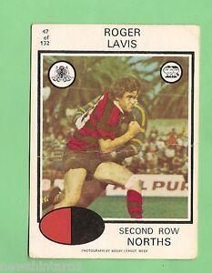 1975-RUGBY-LEAGUE-CARD-47-ROGER-LAVIS-NORTH-SYDNEY-BEARS
