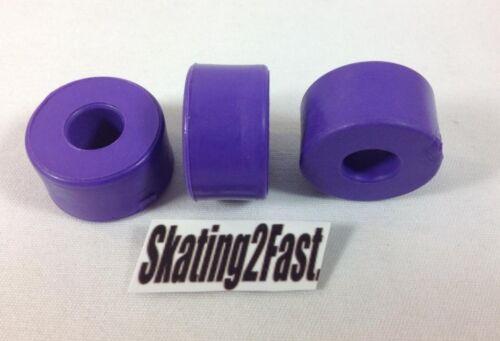 Sure Grip Replacement Double Action Purple Cushions Set of 8 Quads Roller Skates