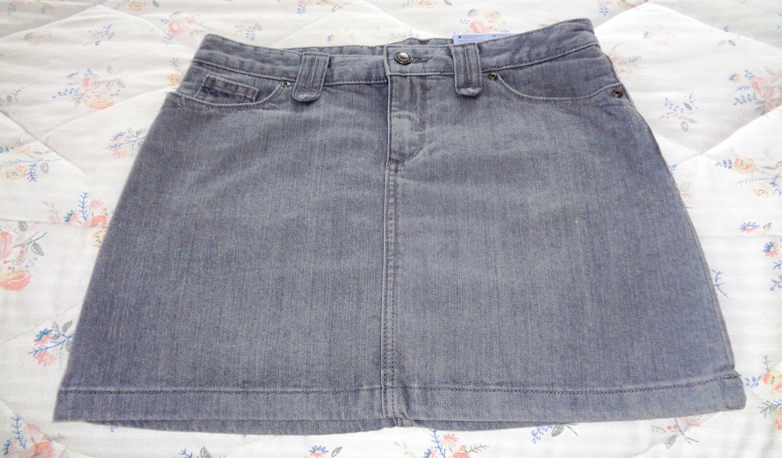 WOW NEW WITH TAGS NWT  69 Patagonia Iron Clad Denim Skirt Womens W Size 4 L@@K