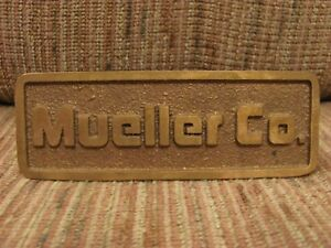 Mueller co decatur il foundry brass business card holder image is loading mueller co decatur il foundry brass business card colourmoves