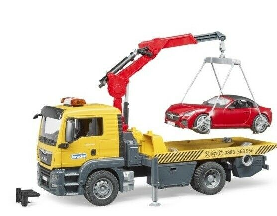 BRU3750 - Truck Of Troubleshooting Man Tgs With Car
