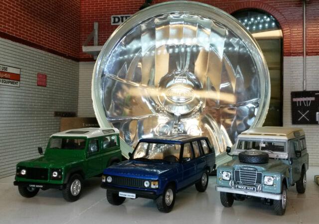 """Land Rover Defender 7/"""" Halógeno Faros De Cristal Faro RHD WIPAC-RTC4615C"""