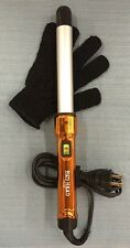 Bed Head Curli Pops Tourmaline Ceramic Tapered Curling Iron, 1 Inch Orange BH313