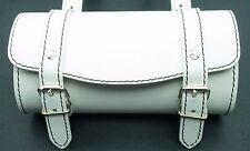 Leather Top Case Roll Tool Handlebar Bag Vespa Sprint Primavera 946 LXV GTS GTV