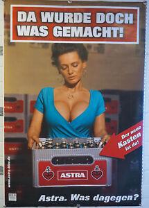 Details Zu Astra Bier Beer Xxl Poster Bild Werbeschild Da Wurde Doch Was Gemacht Neu