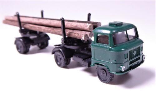 TT W 50 L Langholztransporter Echtholz Holzwirtschaft Forstwirtschaft tannengrün