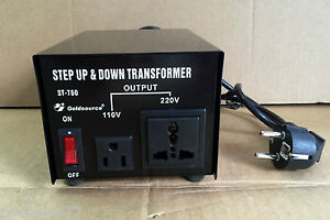 Transformador de corriente 750w convertidor de voltaje 220 - Transformador 220 a 110 ...