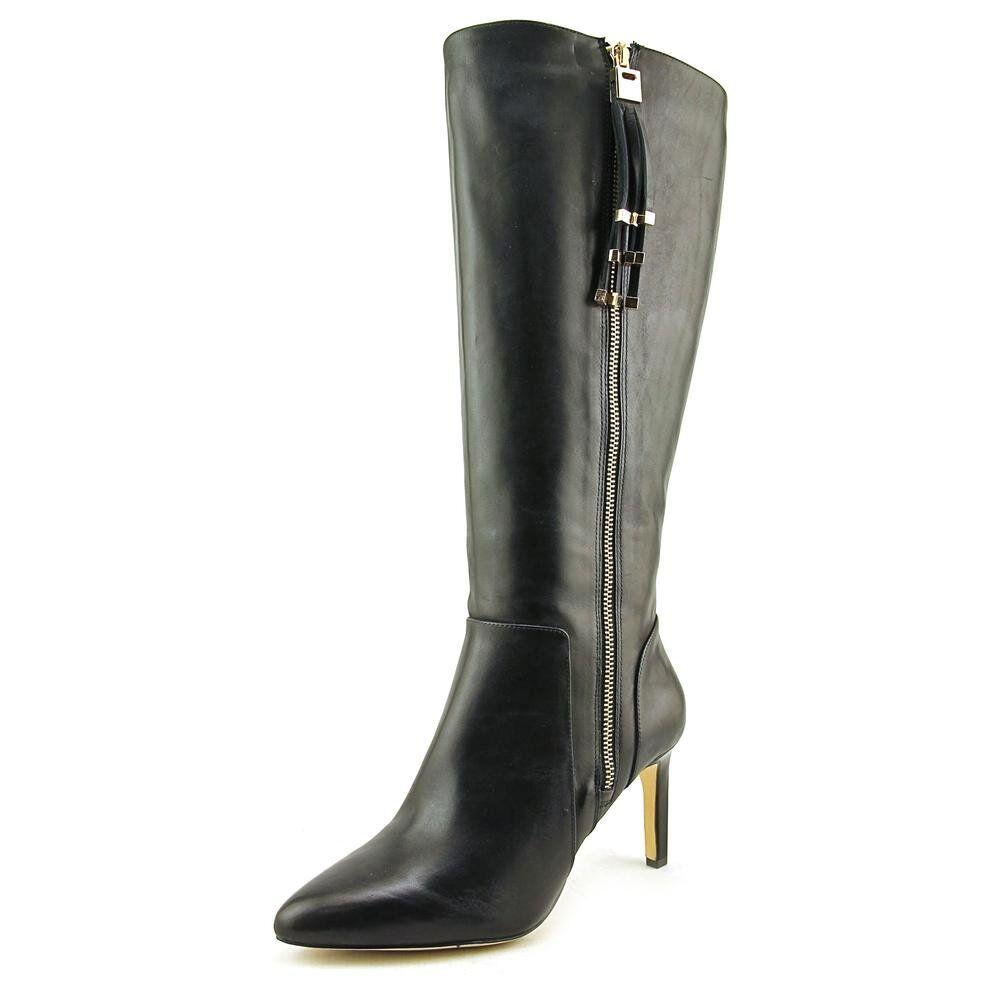 fino al 60% di sconto INC International Concepts donna LIBBI LIBBI LIBBI Leather Pointed Toe Knee High avvio.  risparmia il 50% -75% di sconto