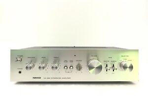 NIKKO-NA-360-Integrated-Amplifier-40-Watts-RMS-Vintage-1978-Refurbished-LIKE-NEW