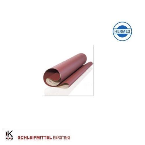 10 Bandes HERMES abrasives BW 110-1120 x 1900 mm grain au choix ve