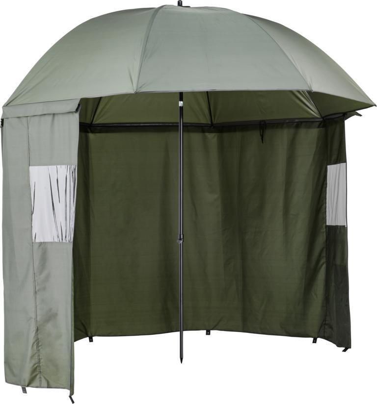 CORMORAN ombrello tenda 2,50m 210d Angel ombrello con mantellina OMBRELLONE ombrello tenda