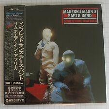 Manfred Mann's Earth Band - Somewhere In Afrika JAPAN MINI LP CD NEU AIRAC-1133