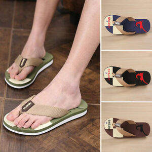 997deef48 Men Casual Slippers Flip Flops Shoes EVA Loafer Sandals Beach ...