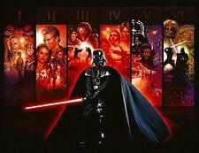 Star Wars - Anthology 34x22 Poster Darth Vader Art Print Wall Art Home Decor