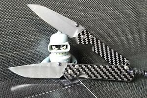 Details about Chris Reeves Small Sebenza 2x2 Twill Carbon Fiber Scale  (Knife NOT INCLUDED)