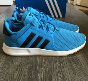 Adidas-X-PLR-Men-039-s-Athletic-Shoes-Size-10-5-Blue-Black-Running-Sneakers