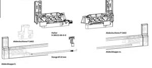 GU PSK Reparatursatz 966//200 rechts silber EV1  29683   29684 NEU