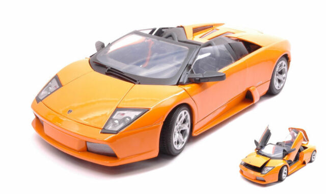 Lamborghini Murcielago Roadster 2007 Orange 1:18 Model MOTORMAX