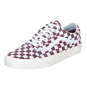 f90df5393456df Caricamento dell'immagine in corso Vans-Old-Skool-Checkerboard-Port-Royale -Marshmallow-Sneakers-