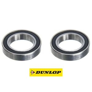 Pack of 2 6804 61804 20x32x7mm 2RS Thin Section Deep Groove Ball Bearing 20mm