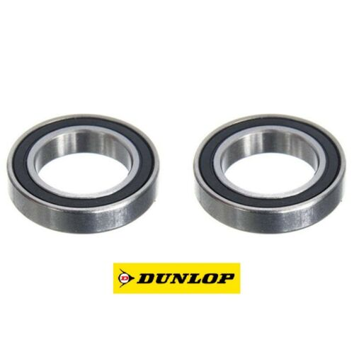 Paire de DUNLOP 61804-2RS-C3 high speed version Mince Section Roulements 20x32x7mm