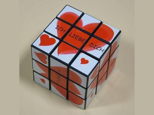 Ti Amo Zauberwürfel Ich liebe dich Fantasy-Cube Geduldspiel I Love You