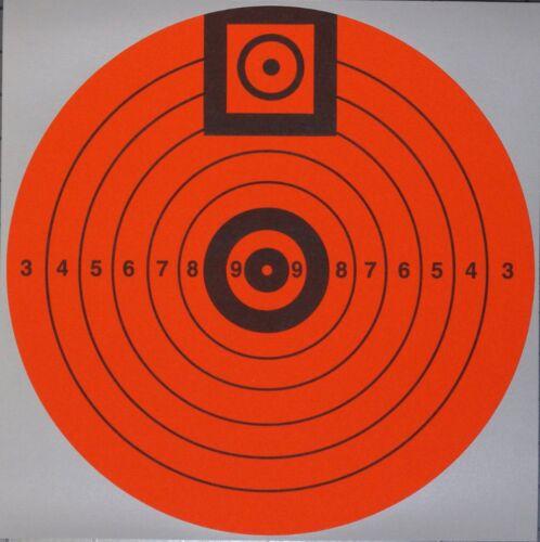 Lyman 2666 Targ-Dots Accupoint Match Target - 10 targets 6 diameter Fluorescent
