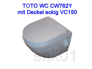 wand wc toto nc wei cw762y sitz vc150 vc100r tornado flush cefiontect. Black Bedroom Furniture Sets. Home Design Ideas