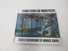 Donde Viven los Monstruos by Maurice Sendak (1996, Hardcover)