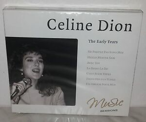 CD-CELINE-DION-EARLY-YEARS-NUOVO-NEW
