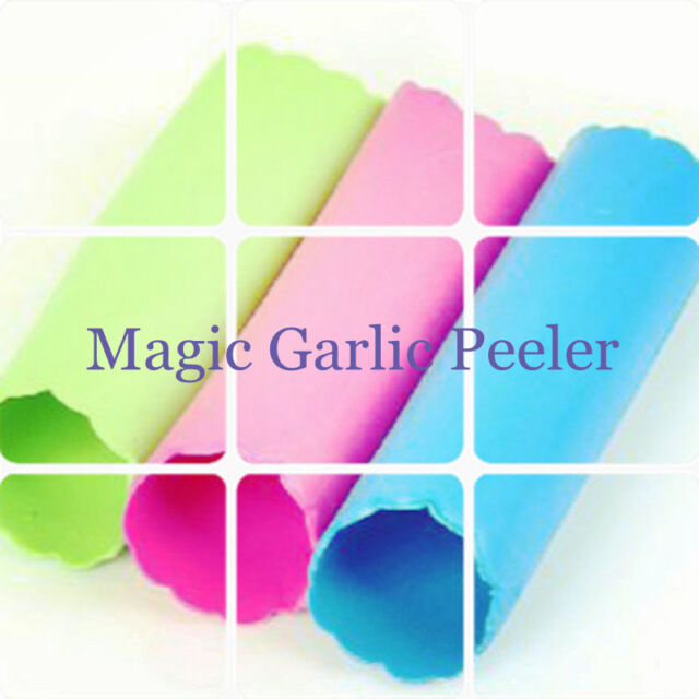 HOT Sale Cooking  Magic Silicone Garlic Peeler Peel Easy Useful Kitchen Tools